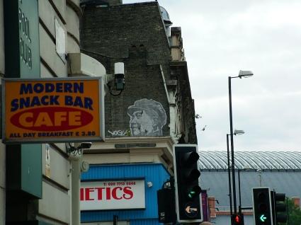 Artist: Shepherd Fairey London 2006