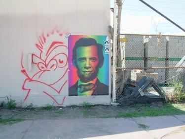 Artist: Guerilla Garden; Shepherd Fairey Denver 2009
