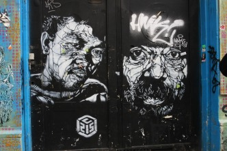 Artist: C215 Amsterdam 2008
