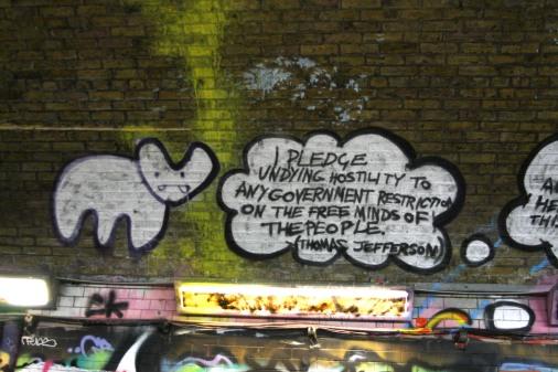 Artist: Pure Evil London 2009; Leak Street Tunnel